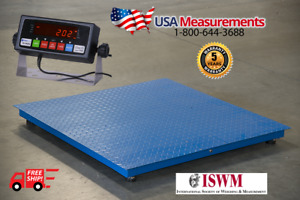 5 Year Warranty Floor Scale Pallet Rs 232 10 000 X 1 Lb 48 X 48 4 X 4