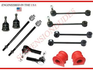 12pc Suspension Kit Fits 2006 2010 Jeep Grand Cherokee Commander