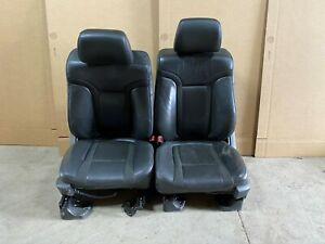 2011 Ford F 150 Raptor Leather Bucket Seats Black Power And Heat