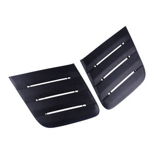Bonnet Hood Vent Louver Cooling Panel Trim 422083 Fit For 2018 19 Ford Mustang
