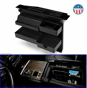 Compatible With Select Raptor Salient Center Console Organizer For Ford Trucks