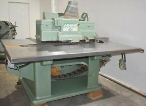 Mattison 404 Ripsaw Madison Straight Line Rip Saw
