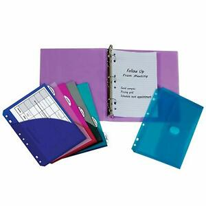 C line Mini Binder Starter Kit Includes Binder Index Dividers Filler Paper