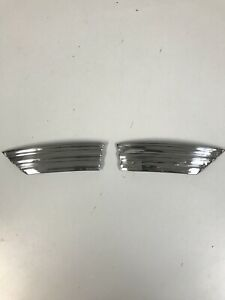1940 Chevrolet Car Front Hood Trim badges
