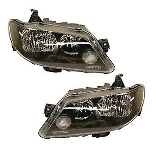 Headlight Set For 2002 2003 Mazda Protege5 Driver And Passenger Side