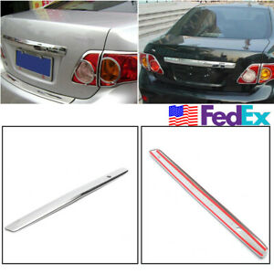 For Toyota Corolla 2009 2010 Rear Trunk Hatch Lip Trim Molding Strip Us Stock 1x
