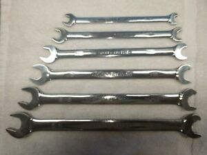 Brand New Snap On Tools 6pc Set Double End Speed Wrench Flank Drive Sae