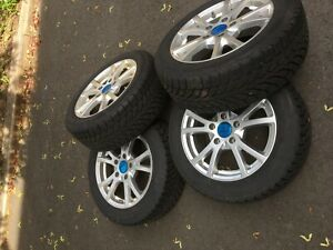 Bmw Rims And Snow Tires 750