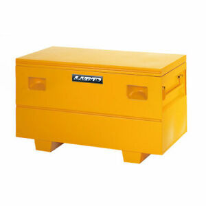 Lund 08036y Job Site Tool Box Yellow Length 32 In Width 19 In Height 17 750