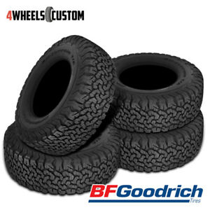4 X New Bf Goodrich All Terrain T A Ko2 265 70r17 121 118s Traction Tire