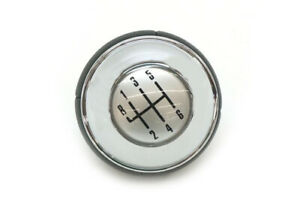 Genuine Mini R52 R53 Manual Transmission Shift Knob Leather chrome 25117542272