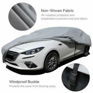 Car Cover Windproof Fit Small Truck Cover Snow Sedan Up To 169 68 47