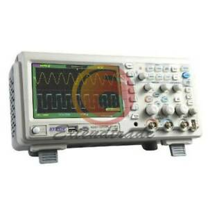Digital Oscilloscope Scope 7 Lcd Dso Upto 2mpts Atten Ads1102cml100mhz
