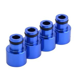 Fuel Injector Top Hat Adapters For Honda Civic And Acura Rdx B16 B18 D16 Engines