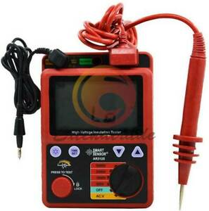 New Ar3125 Smart Sensor 5000v High Voltage Insulation Resistance Tester