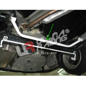 Rear Lower Bar For Toyota Corolla Altis 2002 2012 Ultra Racing Brace 2 Points