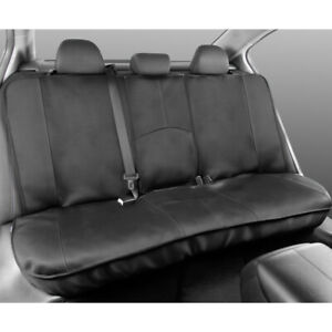 Motor Trend Full Size Rear Bench Car Seat Cover Gray Stitch 100 Waterproof
