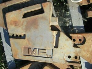 Mf Suitcase Weights For Front Of The Massey Ferguson Tractor