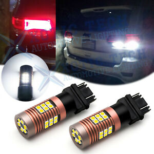 Tail Brake Stop Led Lights For Jeep Grand Cherokee 2005 2018 2019 6000k Bulbs