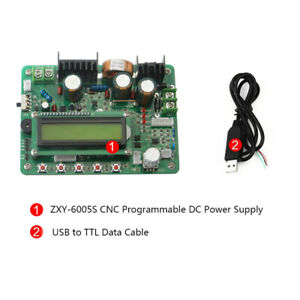 Zxy6005s 60v 5a 300w Programmable Regulator Constant Current Power Supply Modul