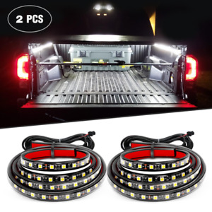 A rmstrong Truck Bed Light Strip Kit 2pcs 60 180 Leds With Waterproof