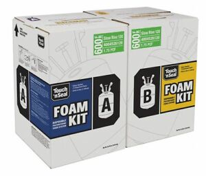 Touch N Seal Air Sealing Insulating Spray Foam Sealant Kit 85 28 Lb Two