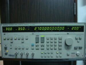Anritsu Mg3633a Synthesized Signal Generator 10khz 2700mhz With Opt 03 04