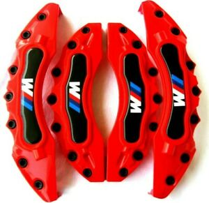 4red Bmw Brake Caliper Covers E30 E36 E46 E39 E90 E91 E92 E60 E61 E62 Gt M Power