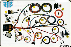 Builder 19 Universal Wiring Harness Aaw New Usa Quality