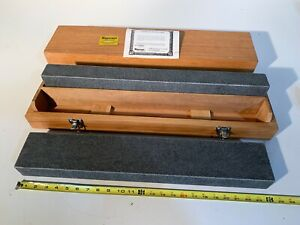 New Starrett Granite Parallel Surface Plate Grade A Inspection 24 x4 x2 Matched