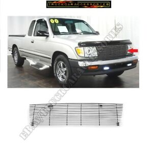Fits Toyota Tacoma 1998 1999 2000 Upper Cut Out Billet Grille Insert 98 99 2000