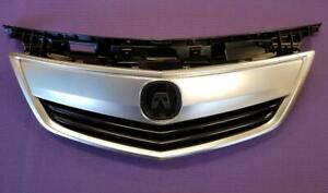 New Acura Tl 2012 2013 2014 Front Upper Grill Grille Satin Finished W Moulding