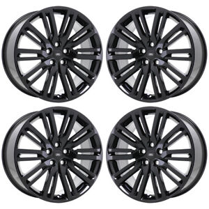 21 Land Rover Discovery Gloss Black Wheels Rims Factory Oem 72292 Exchange