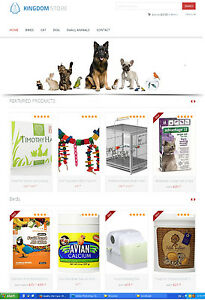 Pet Care Products Store Website Ecommerce Amazon Affiliate