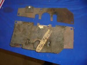 1936 Chevrolet Clutch And Brake Floor Plate