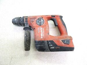 Hilti Te 4 a18 Hammer Cordless With 5 2 Ah Battery tested