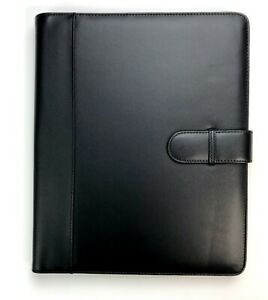 At a glance Plannerfolio Executive Cover Portfolio For 9x11 Planners Black