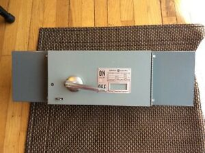 General Electric Qmr Thps363 100 Amp Fusible Panel Switch