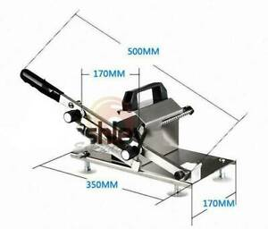 Beef Slicing Machine Manual Stainless Steel Frozen Meat Slicer
