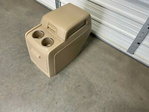 2007 2017 Ford Expedition Lincoln Navigator 2nd Second Row Rear Console Tan