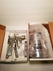 Devilbiss Jga 510 57dfx hvlp Paint Spray Gun W Cup Jga 636 Tgc 8 New With Boxes