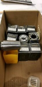 Lot Of 9 Pcs New Tg100 Collets Lyndex Val Erick 7 32 To 1 100tg Coolant