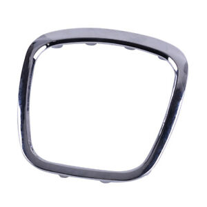 Steering Wheel Center Cover Trim Frame Fit For Audi A3 A4 A5 A6 A8 Q5 Q7 Chrome