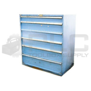 Lista Industrial Cabinet Toolbox 6 Drawer H 52 5 W 46 75 D 28 5