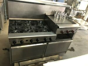 6 Burner Range With Griddle Ovens Are Not Working