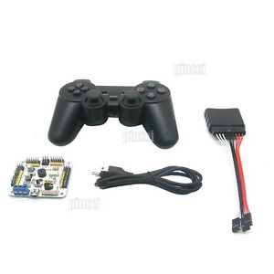 32ch Servo Controller Driver Board With Ps2 Handle For Robot Mechanical Arm Diy