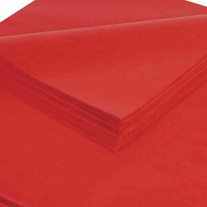 Tissue Paper 20 X 30 Madarin Red 480 Pack
