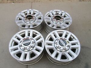 18 Ford F250 F350 Limited Oem Factory Stock Wheels Rims Silver Oem
