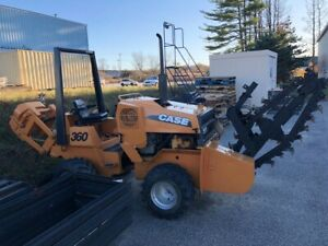 Case 360 Trencher