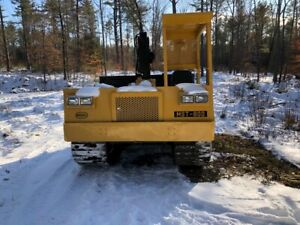 Morooka Mst 800 Dump Bed Crawler With Crane